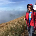 """A climber happy to have """"conquered"""" Mt Pulag"""