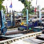 Parit Jawa fishing village
