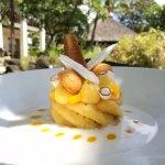 Ananas caramélisé aux saveurs exotiques