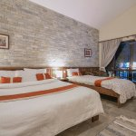 Double & Single Bed Room,