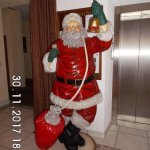 Father Christmas in Reception