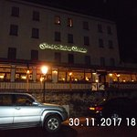 Ouside of Hotel at night
