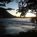 Tamarin Bay as evening falls
