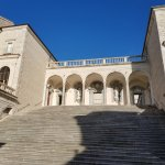 View from court yard at Monte Cassino
