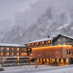 Wellnesshotel Rovanada im Winterlook