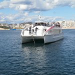 Ferry to Valletta is a two minute walk away. 90 cents return for the over 60's!