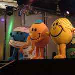 We met the Mr. Men :)