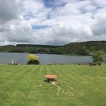 Lake view of Rotoiti overlooking the gardens