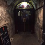 Main Entrance to the Clutha
