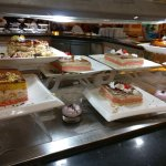 If lots of sugary tasteless sponge cake is your thing you'll love their buffet