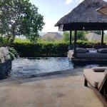 Private pool at Villa
