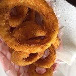 Delicious onion rings