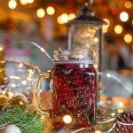 """Предложение из новогоднего меню: Согревающий безалкогольный напиток """"Зимняя вишня"""""""