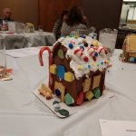 My Friend's and My Gingerbread House
