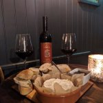 Baked Italian Camembert with Super Tuscan Wine