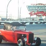 MCADOO 1932 FORD AT THE TURKEY RUN IN DAYTONA FL. AT THE RACE TRACK