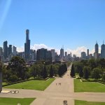 Shrine of Remembrance - Melbourne City