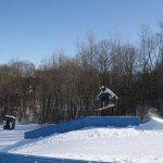 Snowboard tricks at the terrain park | Ski Bradford