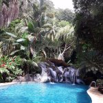 Spring-fed pool