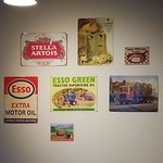 Vintage signs on the wall