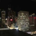 Nightscape of Chicago from The Gwen