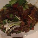 Ahi Tuna in soy ginger sauce