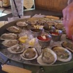 Blue Point Oysters at Fish at 30 Lake in Saratoga Springs!