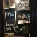 Interesting display of pictures of Bigfoot!