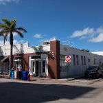 Key Lime Pie Company building is on the corner
