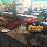 Lunch buffet. The salad bar was very good. They also have pasta, lentils, potatoes. Cheeses and