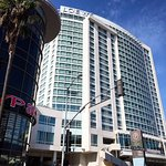 Loews Hollywood Hotel is adjacent to the walk of fame and The Dolby Theatre.