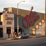 Grab a burger at the famous Sunset Grill when shopping next door at The Guitar Center.