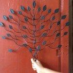 árbol hecho de cobre