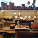 Breakfast section for gluten and diary allergics