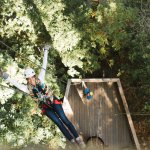 End your thrilling and educational experience with a 60 ft rappel from a redwood!