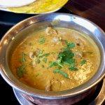The mild lamb curry.