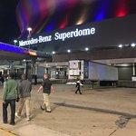 looking toward Superdome