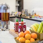 A fresh and healthy breakfast is available each and every morning before you head into Boston.