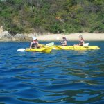 Kayaking at Playa Violin