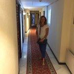 Hotel 2nd floor corridor