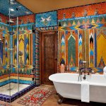 Sandalwood: Historically designed bathroom by Mrs Seret embraces all that SF has to offer