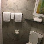 cozy toilet room