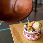Brunch pastry basket