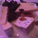 Cheese platter at function gala dinner.