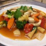 Sweet & sour main course