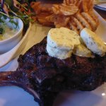 The Rib Eye, with blue cheese butter