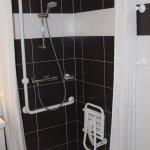 Chambre 001 : Douche handi