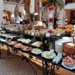 The Landmark: Breakfast spread