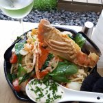 Seafood Spaghetti - delicious