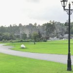 Ashford Castle is less than a 1/4 mile walk from The Lodge.
